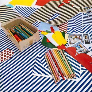 Pencils, 1990, from the series Inside Roy Lichtenstein's Studio © Laurie Lambrecht, 19901992