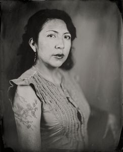 """Dulce."" 8x10""  Wet-plate collodion tintype. © 2009 Keliy Anderson-Staley"
