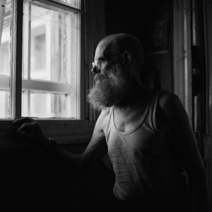 Ivan Philippovitch. He was accused of beating his wife and exiled to Tomsk region. Before that he served in the Black Sea Fleet, studied at the Naval Academy in Odessa. Kargasok. Tomsk region. Russia. 2008.