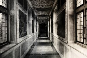 "Corridor, from the series ""Deja vu""© Dongwook Lee"