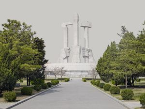 Party Foundation Monument Pyongyang, North Korea 2014