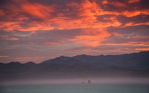 Sunset encounter