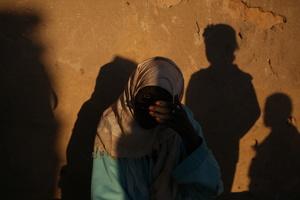 Nubians at sunset