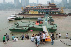 At the Docks, Chongqing, China.