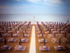 Mass Surveillance, Rimini, Italy, 2011. Photographic Still of Live Streaming Webcam © Gaialight
