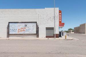 Roadside: No Child is Safe. Tucumcari, New Mexico