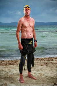 Elmar Sprink, the Heart Transplant Triathlete