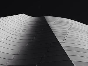 Silent architectural sand dunes