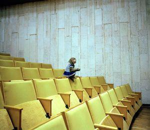 Monkey in Auditorium