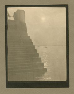 """Steps, Houses of Parliament"", early 1900s © Alvin Langdon Coburn, Hans P. Kraus Jr."