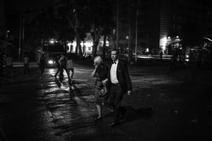 """But while the government took back the square, the people's will remained. The construction project was shelved indefinitely. From the series """"Witnessing Gezi"""" © Emin Ozmen"""