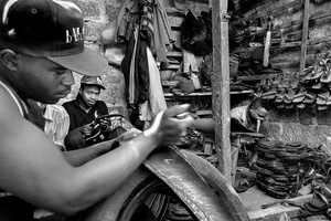 Makadare Market/Slum.