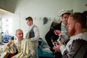 09 Nov 2017. Cork Opera House. Edward Graham, Ryan Lucey, Cormac O'Murchu, and Lorcan O'Neil.