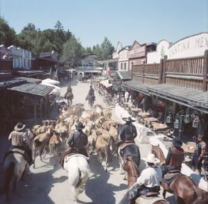 American History Show, Westernstadt Pullman City, Eging as See, Germany, 2010