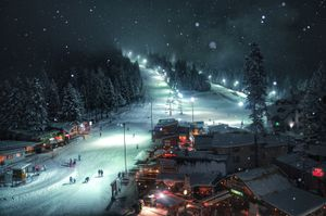 Winter Dream. Borovets ski resort, Bulgaria. © Yasen Georgiev, Bulgaria, Shortlist, Travel, Open. Courtesy of 2015 Sony World Photography Awards.