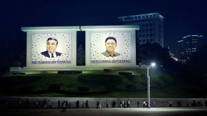 Film still 2, Dear General, where are you, Pyongyang, North Korea, 2017