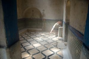 The Hammam. Meknes, Morocco