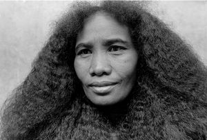 """Woman With Her Hair Down"" Ranomafana National Park 1994"
