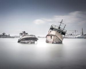 Salamis shipwrecks #2