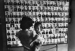 "Cambodia. Phnom-Penh. Museum of torture and genocide. 1985. From the book ""War Photographer: Between Shadow and Light"" © Christine Spengler"
