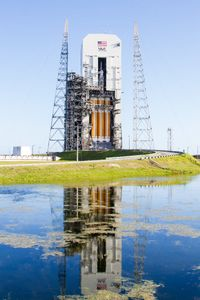 Orion / EFT1 on the Pad