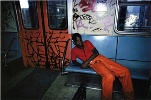 Untitled, Subway, New York, early 1980s © Bruce Davidson, Rosegallery