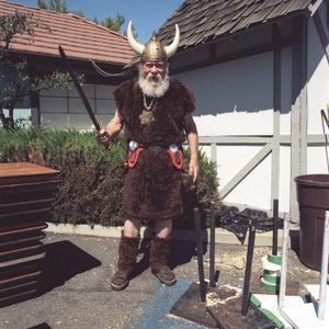 Viking, Danish Days, Solvang, California, 2009