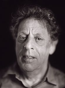 "Philip Glass by Chuck Close. From ""A Couple of Ways of Doing Something"" (Aperture, 2006)"