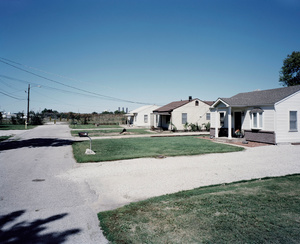 Low income neighborhood. SAUGET, ILLINOIS. 2012