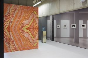 Installation view of the exhibition The Plastic Number at KRIEG, Hasselt, 2017