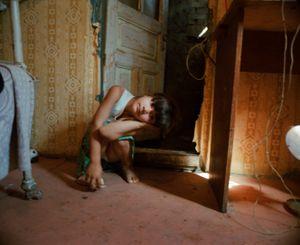 Girl living in a hovel, Odessa