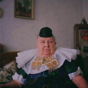 Anna Schaefer, Schaumburger Land, 2010. From the series: The last women in their traditional peasant garbs