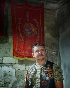 Valery Isordan  - Member of 'Vikings' motocycle club of Transnistria
