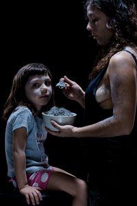 Contaminados 10, Paloma Aguilera-Moreira, 5 years old,  Ada Isabel Moreira, Artist / activist.