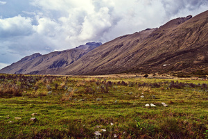 Outskirts of Huascaran National Park, Peru.