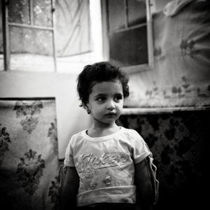 Syrian refugee, Zarqa Camp, Jordan