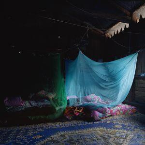 Yunnan-Blue Mosquito Netting © Marrigje de Maar