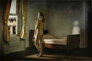 "Morning In A City. From the series ""Hopper Meditations"" © Richard Tuschman"