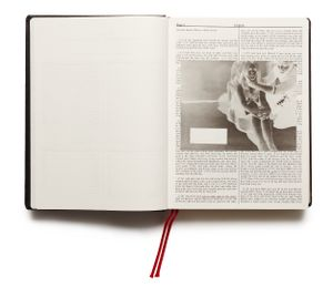 "From the photobook ""Holy Bible"" © Adam Broomberg & Oliver Chanarin"