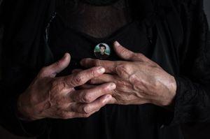 Mother is in mourning for her son. New Athos, Abkhazia. © Olga Ingurazova