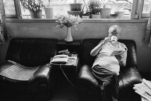 At home: Lin Xiangbei, aged 89, Xiangheli, Chengdu, Sichuan Province © Kate Shortt