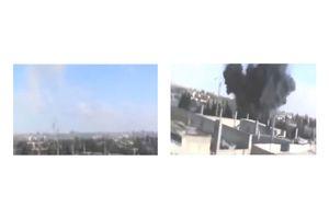 Syria War 2016 - Russian Airstrikes ISIS - Russian military bombs Islamic State 'capital' of Raqqa