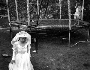 Bride on the Trampoline, Brookline 2004