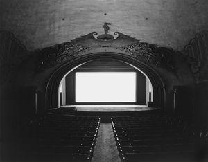 © Hiroshi Sugimoto, Avalon Theatre, Catalina Island, 1993. Courtesy Fraenkel Gallery