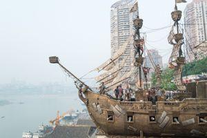 The Pirate Ship, Chongqing, China.