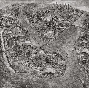 Diorama Map Istanbul © Sohei Nishino/Courtesy of Michael Hoppen Contemporary