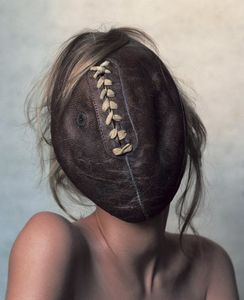 Football Face, New York, 2002 © Irving Penn, Condé Nast Publications