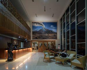 Merapi Merbabu hotels and resorts' lobby, Yogyakarta