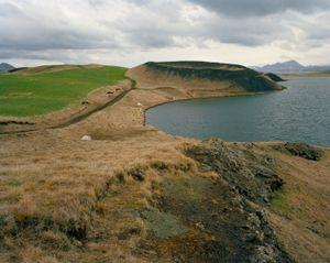 Pseudo Crater, Myvatn, Iceland.