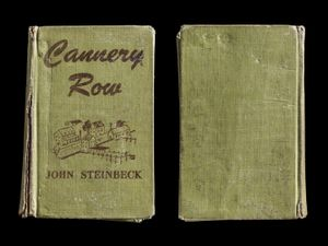 Cannery Row, Covers Front & Back © Kerry Mansfield